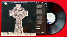 1989 RARE Black Sabbath Headless Cross LPGOLD SEAL PROMO IRS-82002 VINYL Lyrics