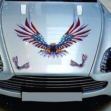4Pcs Car Auto Truck Side Eagle Decal Vinyl sticker Hood Decals Flying Hawk