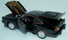 1978 Mustang II Black with Gold graphics KING COBRA II 1:18 GreenLight 12878