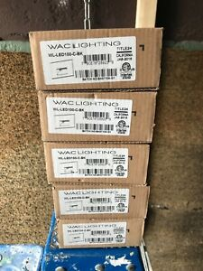 WAC Lighting WL-LED100-C-BK 1-Light LED Rectangular Step Light - Black lot of 5
