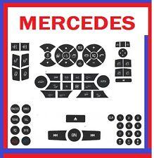 2008 Mercedes C350 Button Premium Repair Package-Steering AC Locks Window Decals