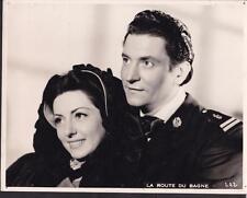 Viviane Romance Clément Duhour La Route Du Bagne 1945 French movie photo 26039