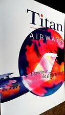 TITAN AIRWAYS: EXPERIENCE THE DIFFERENCE BROCHURE (2001)