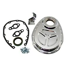 Small Block Chevy 350 5.7L 305 5.0L OE Roller Style Cover Kit Chrome Timing Set