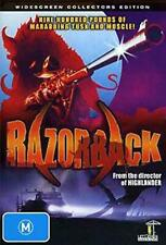 Razorback (DVD) Killer Boar RUSSEL MULCAHY Bill Kerr [All Regions] NEW/SEALED