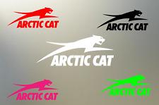 """(2) 8"""" arctic cat 4x4 ATV UTV wild cat snow outdoor vinyl Decal sticker S608"""
