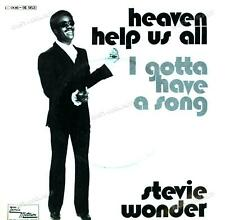 Stevie Wonder - Heaven Help Us All / I Gotta Have A Song 7in 1970 (VG/VG) .
