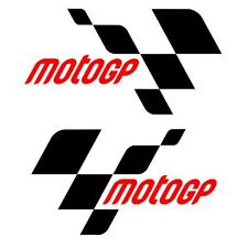"2 x 6"" MOTO GP LOGO MOTOR BIKE RACING STICKER DECAL CAR STICKER HONDA YAMAHA"