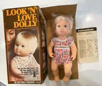 Remco Vtg 1979 Look n Love Dolly Doll New Old Stock NIB Nods Turns Head WORKS