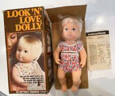 Remco Vtg 1979 Look n Love Dolly Doll New Old Stock Nib Nods Turns Head Works