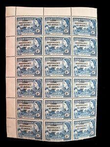 GHANA - SCOTT# 27 - BLOCK 24 - MNH - CAT VAL $144.00