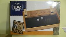 Colonial Williamsburg Shut The Box Dice Game NEW Family Toy Kids Games