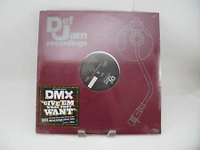 DMX - Def Jam  B0004938 - Give em What They Want, Pump Ya Fist Record (Sealed)