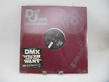 DMX - Def Jam  B0004938 - Give em What They Want, Pump Ya Fist Record (Sealed)