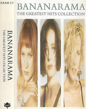 BANANARAMA GREATEST HITS COLLECTION CASSETTE ALBUM 14track New Wave Synth-pop