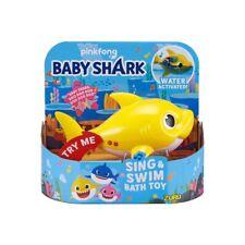Robo Alive Sing & Swim Baby Shark Robotic Bath Toy [Yellow]-New