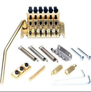 Genuine Floyd Rose Special Series Tremolo Bridge set GOLD & R2 Nut