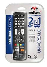 Telecomando Universale Meliconi Control 2 Digital x TV e Decoder Terrestre o Sat