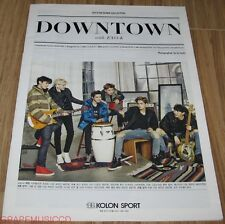 EXO KOLON SPORT DOWNTOWN WITH EXO-K EXO-M 2014 WINTER PHOTO CATALOGUE CATALOG
