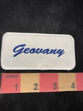 GEOVANY Name Badge Patch 88AC