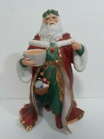 1989 Porcelain Lenox Father Christmas Figurine Collectable Handcrafted RARE VTG