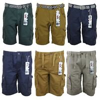 New Mens Cargo Combat Shorts Regular fit Soul Dance Half Pants 30in to 38in Size