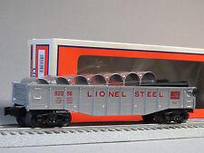 LIONEL STEEL CULVERT GONDOLA CAR o gauge train frieght transport 6-82096