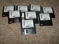 "Metal & Lace: The Battle of the Robo Babes game for IBM on 3.5"" floppy disks"