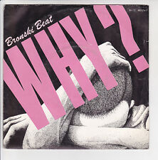 "BRONSKI BEAT Vinyl 45 tours SP 7"" WHY - CADILLAC CAR - LONDON 882 014 F Réduit"