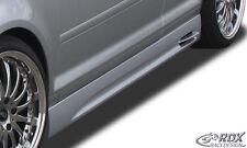 """RDX Seitenschweller AUDI A3 8P7 Cabrio Schweller """"GT-Race"""" Set Spoiler"""