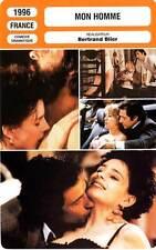 FICHE CINEMA : MON HOMME - Grinberg,Lanvin,Martinez,Galabru,Fresson,Blier 1996