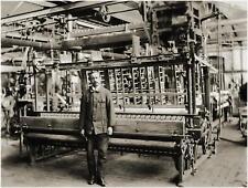 Maschinenfabrik Carl Zangs AG Krefeld Fondateur Action 1920 devant la. Herm. schroers