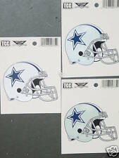 NFL Window Clings (3), Dallas Cowboys, NEW