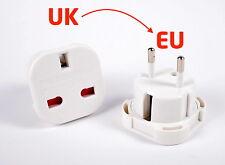 Reisestecker UK DE / EU Steckdosenadapter Adapter UK England Deutschland [#1178]