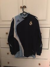 Adidas Real Madrid Training Top Jersey 08-09 mens Large long sleeve VERY RARE