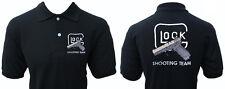 Glock Shooting Team Gun Pistolet Gotcha Polo Shirt