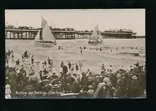 Lancashire BLACKPOOL Yachting & Bathing 1921 PPC by Philco