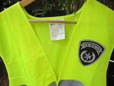 ISRAEL NATIONAL POLICE - TRAFFIC POLICEMEN L VEST W/ ORG. SIGN ! AUTH.NEW.UNIQUE