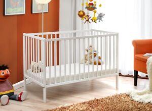 colore del letto: naturale Letto cullaMonkey bambino neonato in legno cameretta scandinavo 120x60cm