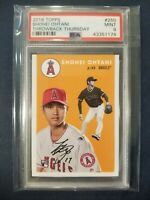 2018 Topps Throwback Thursday 1954 #250 SHOHEI OHTANI RC Angels Rookie PSA 9