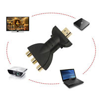 HDMI to 3 RCA Audio Adapter AV Component Converter 720P 1080P Digital Signal n