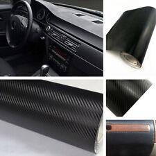 Car Interior Accessories Interior Panel Black Carbon Fiber Vinyl Wrap Sticker