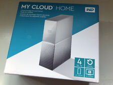 4TB WD WESTERN DIGITAL MY CLOUD HOME NETWORK ATTACHED STORAGE