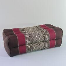 Thai pillow bolster kapok cotton handcraft rectangle decor cushion handmade