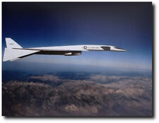 "XB-70 Over The Mountains  - 8"" x 10"" Unframed Aviation Art"