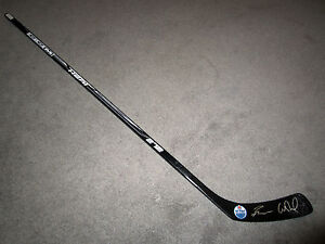 CONNOR MCDAVID & RYAN NUGENT-HOPKINS Edmonton Oilers SIGNED Hockey Stick w/ COA