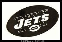 LOT OF 5 NEW YORK JETS FOOTBALL NFL LICENSED TEAM LOGO STICKERS FREE SHIPPING