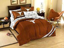 Texas Longhorns comforter 3PC 76x86 FULL size 2 shams FREE SHIPNG UT bedding