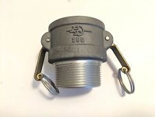 """A153 PT Quick Disconnect Coupling Half 2-1/2"""" Female Camlock to NPT 150 PSI NOS"""