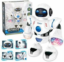 Kids Dancing Robot Disco Light Cool Dance Face Arms and Legs Move Lights up